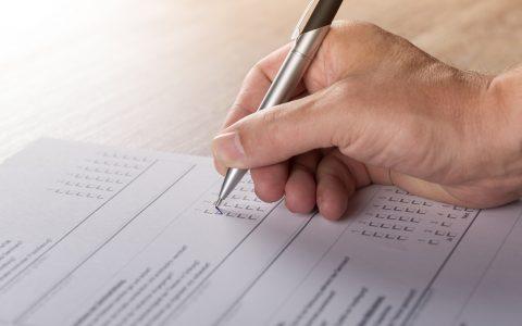 事业单位考试姿势