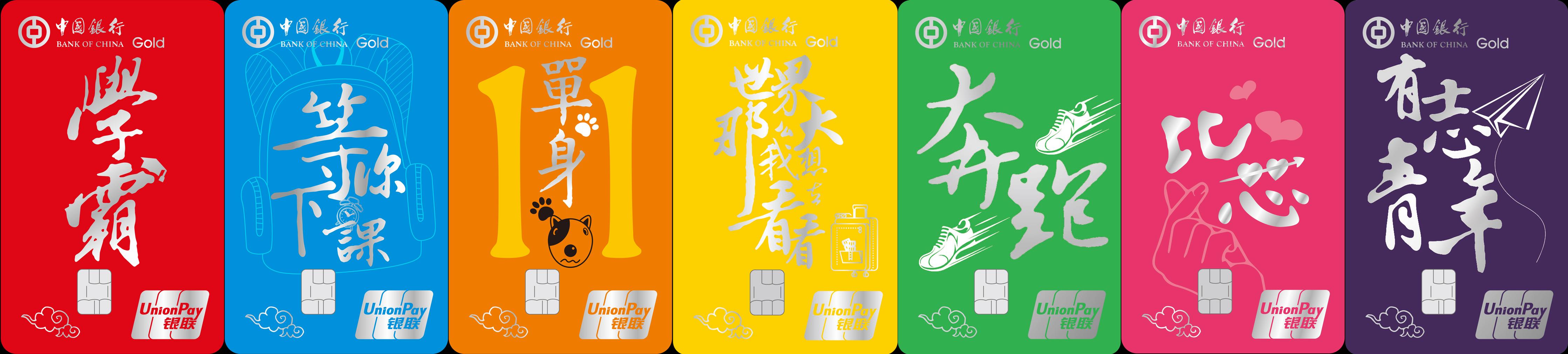中国银行大学生信用卡权益(18年下半年)